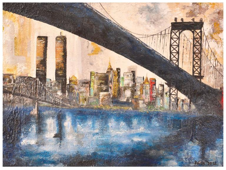 Brooklyn Bridge 80x60 cm
